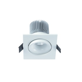 formetra 7w square downlight WH